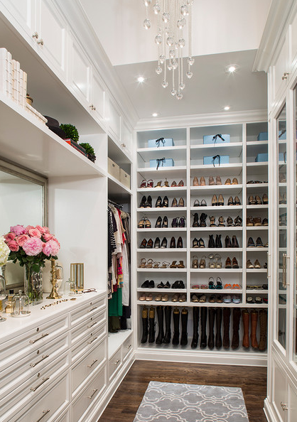 Accessory And Shoe Station In Houston Closet