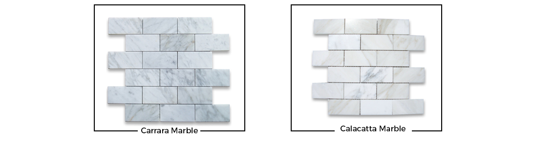carrara marble and calacatta marble in houston