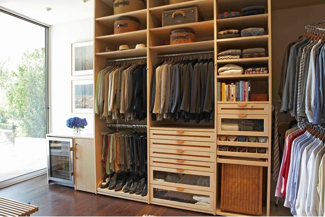 custom closet idea shelf