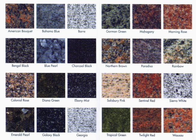 Many Granite Choices Are Simple Shades Like White Or Black With Mottling Veining Of Diffe Colors That Said You Can Also Get In A Huge
